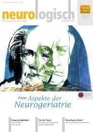 Neurogeriatrie - Österreichische Gesellschaft für Neurologie