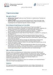 Trigeminusneuralgie - Österreichische Gesellschaft für Neurologie