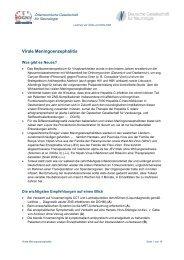 Virale Meningoenzephalitis - Österreichische Gesellschaft für ...