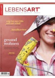 Artikel in der Lebensart Feb/März 2012 - ÖGNB