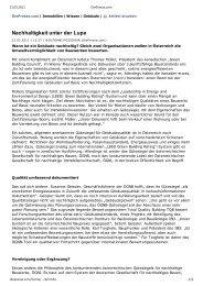Artikel / Interview in der Zeitung Die Presse vom 21. Februar ... - ÖGNB