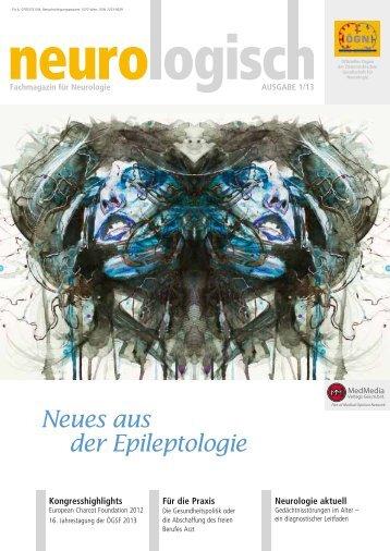 Neues aus der Epileptologie - Österreichische Gesellschaft für ...