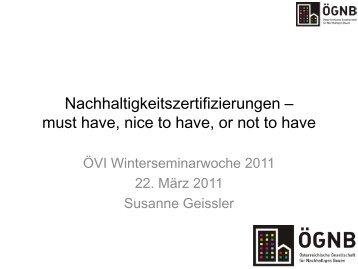 Vortrag im Rahmen der ÖVI Winterseminarreihe vom 3 ... - ÖGNB