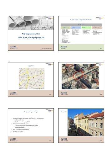 Projektpräsentation 1060 Wien, Stumpergasse 60