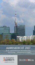 Jahresbericht 2007