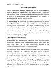 Tierschutzkommunikation - Österreichische Gesellschaft der Tierärzte