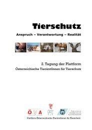 Tierschutz - Österreichische Gesellschaft der Tierärzte