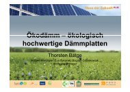 Ökodämm – ökologisch Ökodämm – ökologisch hochwertige ...