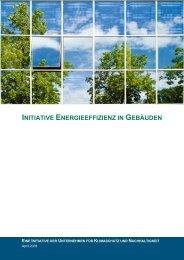 INITIATIVE ENERGIEEFFIZIENZ IN GEBÄUDEN - ÖGUT