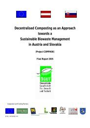 Decentralised Composting as an Approach towards a ... - ÖGUT