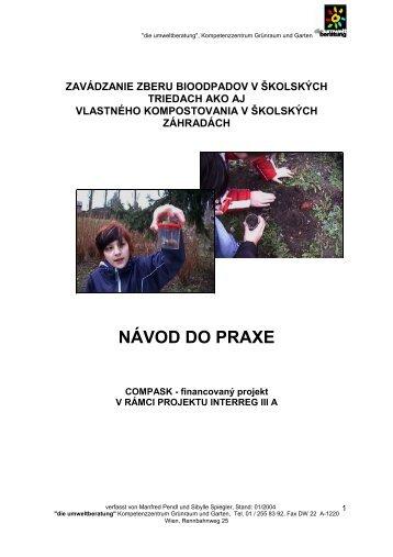 NÁVOD DO PRAXE - ÖGUT