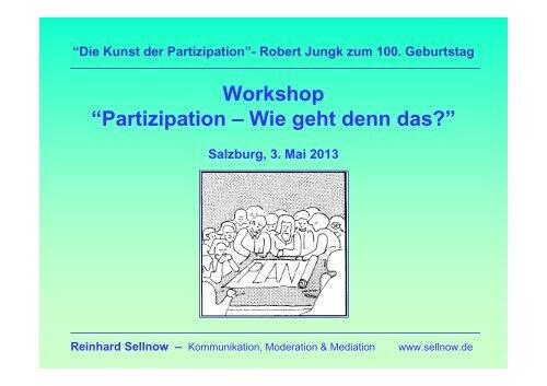 Vortrag Reinhard Sellnow