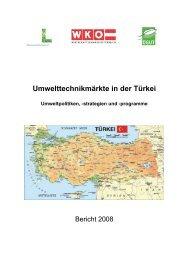 Umwelttechnikmärkte in der Türkei - Wirtschaftskammer Österreich