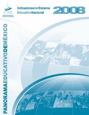 Panorama educativo de México 2008 - OEI