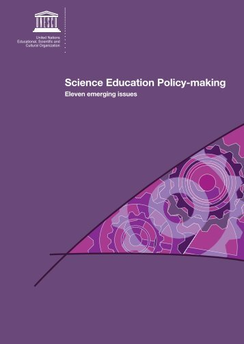 Science education policy-making: eleven emerging issues; 2008 - OEI