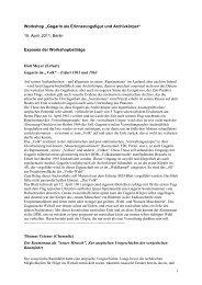 Exposés (pdf, 95 kB)