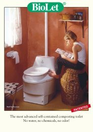 The most advanced self-contained composting toilet No water, no ...