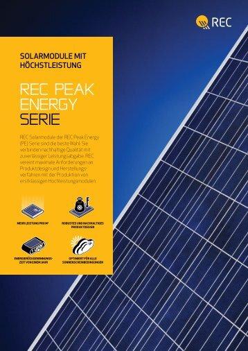 rec Peak energy SerIe