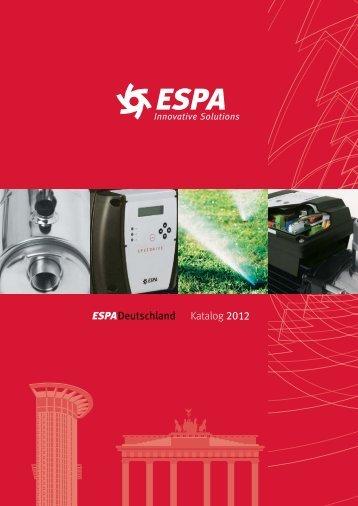 ESPA, innovative Lösungen - Espa Deutschland