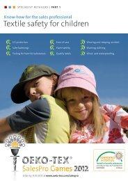 OETS 100 Textile Safety for Children Part 1 EN - Oeko-Tex