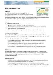 Factsheet OEKO-TEX® Standard 100