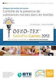 textiles ménagers - Oeko-Tex