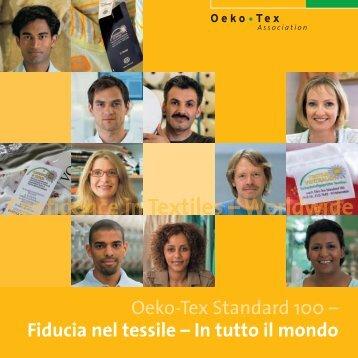 Fiducia nel tessile - Oeko-Tex