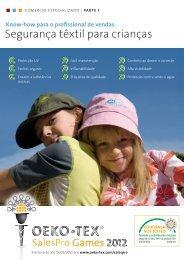 Conhecimentos básicos da segurança têxtil para crianças - Oeko-Tex
