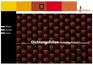 DichtungsfolienDichtungsfolien Dichtungsfolien - Forum Ökoeffizienz