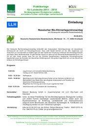 Informationsschreiben (PDF-Datei) - Oekolandbau.de