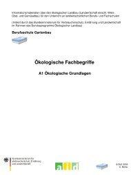 Ökologische Fachbegriffe - Oekolandbau.de