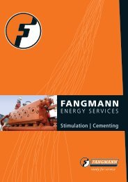 BOOST YOUR PRODUCTION - Fangmann Group