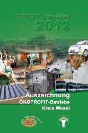 ÖKOPROFIT Kreis Wesel 2012 - Ökoprofit NRW