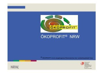 als Download - Ökoprofit NRW