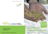 Unternehmen Landwirtschaft 2020 - Ökosoziales Forum
