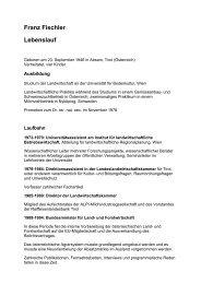 CV_Franz Fischler - Ökosoziales Forum