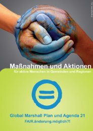 Global Marshall Plan und Agenda 21 - Ökosoziales Forum