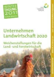 Tagungsmappe Gefluegel.pdf - Ökosoziales Forum