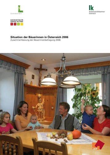 Bäuerinnenbefragung 2006 - Der Standard