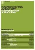 europas zukunft gestalten shaping europe's future - Ökosoziales ... - Seite 2
