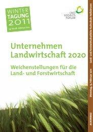Tagungsmappe Ackerbau.pdf - Ökosoziales Forum