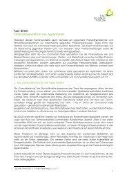 Finanzspekulation - Ökosoziales Forum
