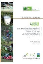 18. Wintertagung - Ökosoziales Forum