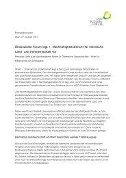 PA NH Bericht - Ökosoziales Forum Österreich