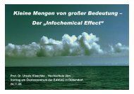 Infochemicals - Oekotoxzentrum