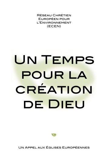 Télécharger l'historique du Temps de la création et les ... - Pax Christi