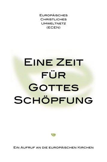 """Download """"Eine Zeit für Gottes Schöpfung"""" - oeku Kirche und Umwelt"""