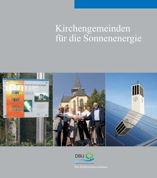 Kirchengemeinden für die Sonnenenergie - Deutsche ...