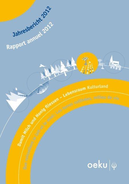 Jahresbericht 2012 - oeku Kirche und Umwelt