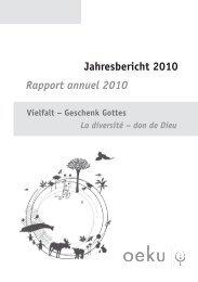 Download Jahresbericht - oeku Kirche und Umwelt